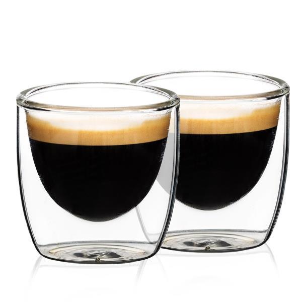 4Home Termo Sklenice Na Espresso Hot&Cool 80 Ml, 2 Ks