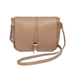 1 Béžová kožená kabelka Renata Corsi Ariela 92136c45d12